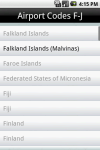 International Airport Codes screenshot 3/6