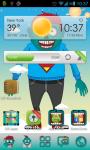 Zombie Theme Go Launcher screenshot 1/3
