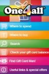One4all Gift Cards Store locator - Ireland screenshot 1/1