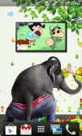 Naughty Elephant Live wallpaper screenshot 5/6