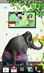 Naughty Elephant Live wallpaper screenshot 6/6
