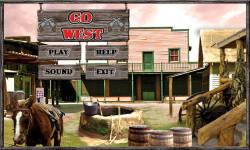 Free Hidden Object Games - Go West screenshot 1/4