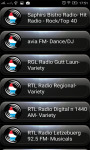 Radio FM Luxembourg screenshot 1/2
