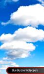 Blue Sky Live Wallpapers Free screenshot 1/6
