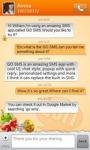 GO SMS New Year Theme - Orange screenshot 5/6