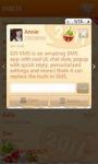 GO SMS New Year Theme - Orange screenshot 6/6