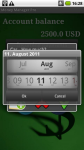 MoneyManager Android screenshot 1/6