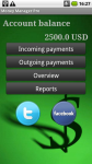 MoneyManager Android screenshot 2/6