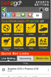 Bet2Go Mobile Sports Betting Download for FREE screenshot 1/6