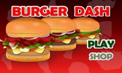 Burger Dash screenshot 1/5