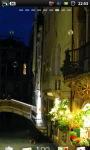 Venice Small Canal Live Wallpaper screenshot 2/6