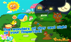 Night and Day by BabyBus screenshot 1/5
