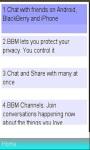 BBM Info screenshot 1/1
