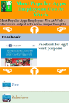 Most Popular Apps Employees Use At Work screenshot 3/3