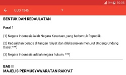 Produk Hukum Indonesia / Indonesian Law Product screenshot 5/6