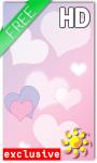 Hearts Love Live Wallpaper screenshot 1/2