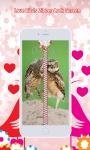 Love Birds Zipper Lock Screen screenshot 1/6