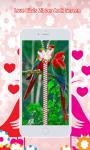 Love Birds Zipper Lock Screen screenshot 3/6
