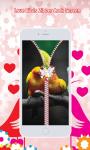 Love Birds Zipper Lock Screen screenshot 4/6