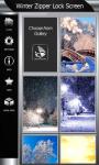Best Winter Zipper Lock Screen screenshot 3/6