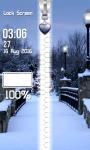 Best Winter Zipper Lock Screen screenshot 4/6
