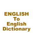 Dictionary for Simple English screenshot 1/1