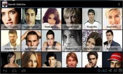 Spanish Celebrities screenshot 1/3