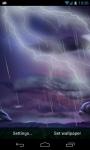 Thunder Storm LWP screenshot 1/4