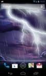 Thunder Storm LWP screenshot 3/4