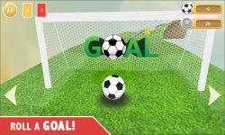 Football Soccer : Goal Roll screenshot 3/5