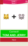 Emoji Cartoon Quiz screenshot 1/6