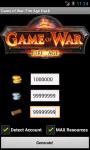 Game of War Fire Age Cheats Unofficial screenshot 1/2