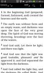 HOLY BIBLE Amplified Bible screenshot 1/3