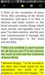 HOLY BIBLE Amplified Bible screenshot 3/3