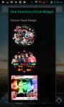 One Direction Clock Widget screenshot 2/4