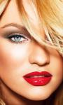 Candice Swanepoel Red Lips Live Wallpaper screenshot 1/4