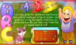 ABC Kids English Spelling Game screenshot 2/6