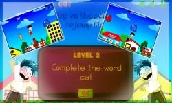 ABC Kids English Spelling Game screenshot 3/6