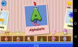 Alphabet Songs Kids Top Nursery Rhymes Videos screenshot 1/2