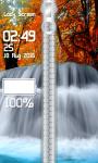 Waterfall Zipper Lock Screen Best screenshot 4/6