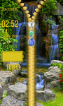 Waterfall Zipper Lock Screen Best screenshot 5/6