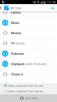 iSyncr voor iTunes personal screenshot 6/6