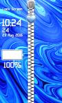 Zipper Lock Screen – Abstract screenshot 4/6