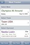 Gymnastics Meet Tracker screenshot 1/1