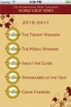 The IWC World's Best Wines 2010-2011 screenshot 1/1