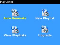 Playlister screenshot 2/3