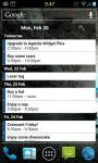 Agenda Widget Plus Gold screenshot 1/5