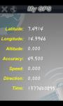 My useful GPS screenshot 1/4