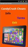 Candy Crush Cheats N Guides screenshot 2/4