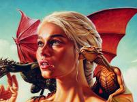 Awesome Game of Thrones Fan art Dragon screenshot 2/6